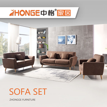 Modern Home Used Sitting Room Elegant Teak Wood Sofa Set Designs