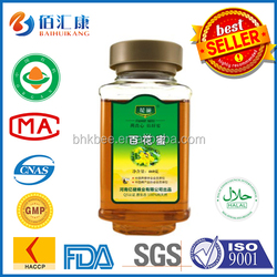 Haccp ISO Nature healthy mature Healthy bee Mixed flower honey