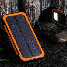 JESOY New Arrival Best Quality USB Charger Solar Power Bank 20000mah