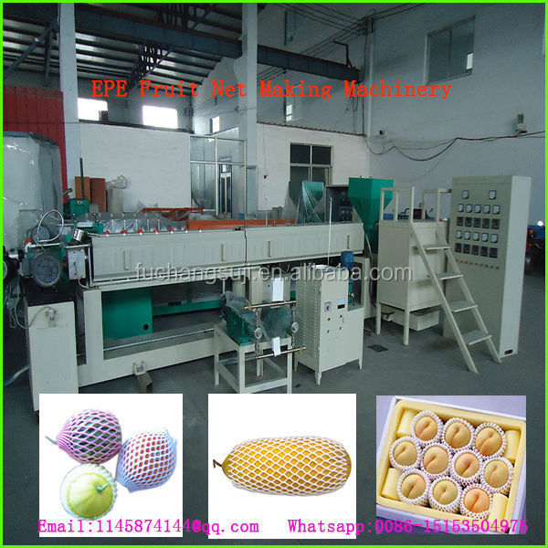 Apple net making machinery