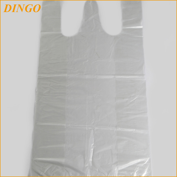 plastic gift bag shopping Printed T-shirt bags made in China