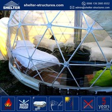 in low price China manufacturer shelter bride bridegroom geodesic domes