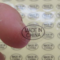 "Stick ""Made in China"" labels on your products and cartons in China--Skype: colsales09"