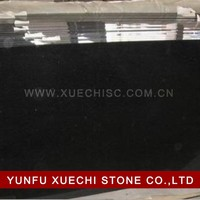 Factory wholesale price absolute black granite patio slabs for sale