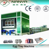 automatic rotary egg tray making chicken farm machine fruit tray machine production line