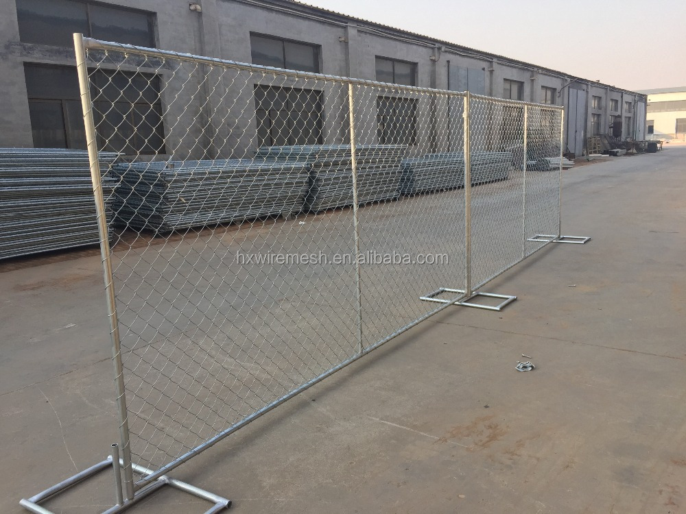 Galvanize USA standard temporary construction fence / Temp Fence Panels for the USA from Anping
