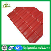 thermal insulation classical asa plastic high quality roof tiles spanish synthetic resin roof tile