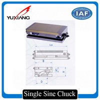 Single sine permanent magnetic chuck