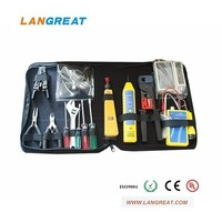 telecom/network tool kit with tester/tracker/tools /stripper