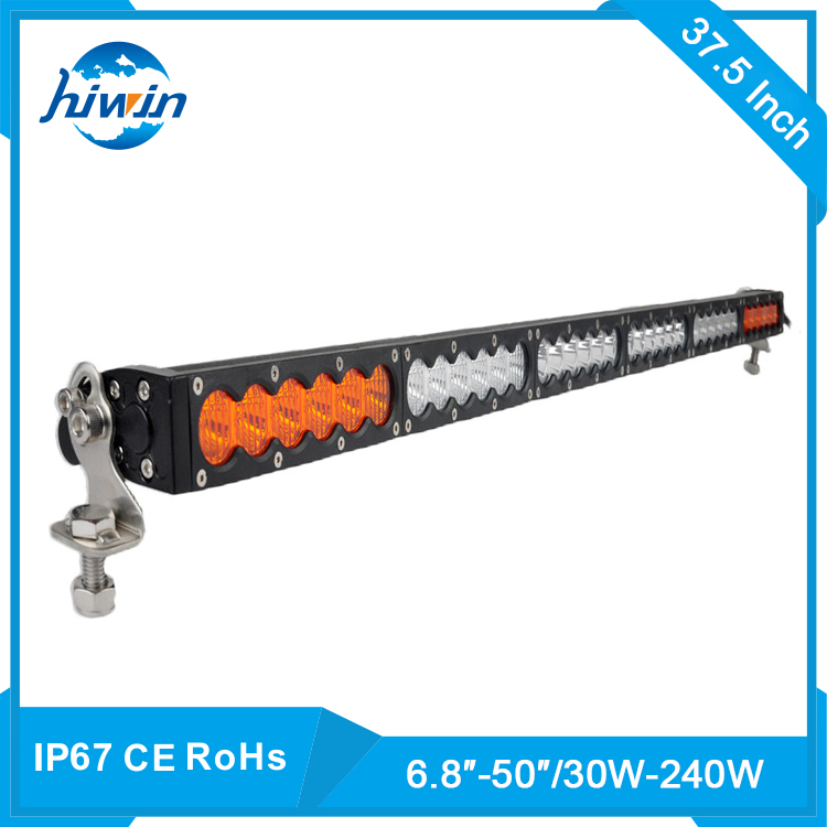 Hiwin Single Row 180W 15300LM Multi Color Led Light Bar For Dune Buggy Truck YP-855
