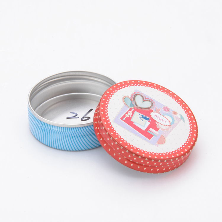 wholesale customized lower price 15ml 25ml 35ml 50ml round essential balm cream aluminum jars