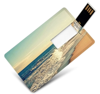 Top selling Name Card USB Flash Drive Custom logo Business Card Memory Stick slim card shape USB for computers