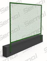 China manufacturer chain link fence contractors,vinyl fencing cost