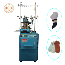 ISO Certification Double Cylinder Sock Knitting Machine