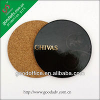 Round shape cool design waterproofing mdf epoxy coasters