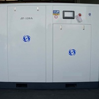 JF-120AZ VSD Screw Air Compressor 90KW 10Bar Direct drive