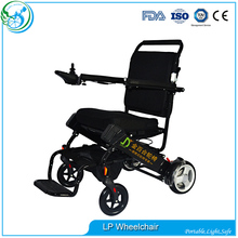 Portable lightweight battery operated power wheelchair