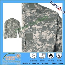 EN11611/EN1149/NFPA 2112 aramid viscose inherently fire retardant fabric 250gsm for military and police uniform