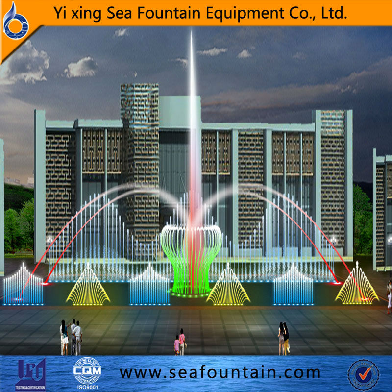 wonderful abstract water feature multimedia colorful modern fountain