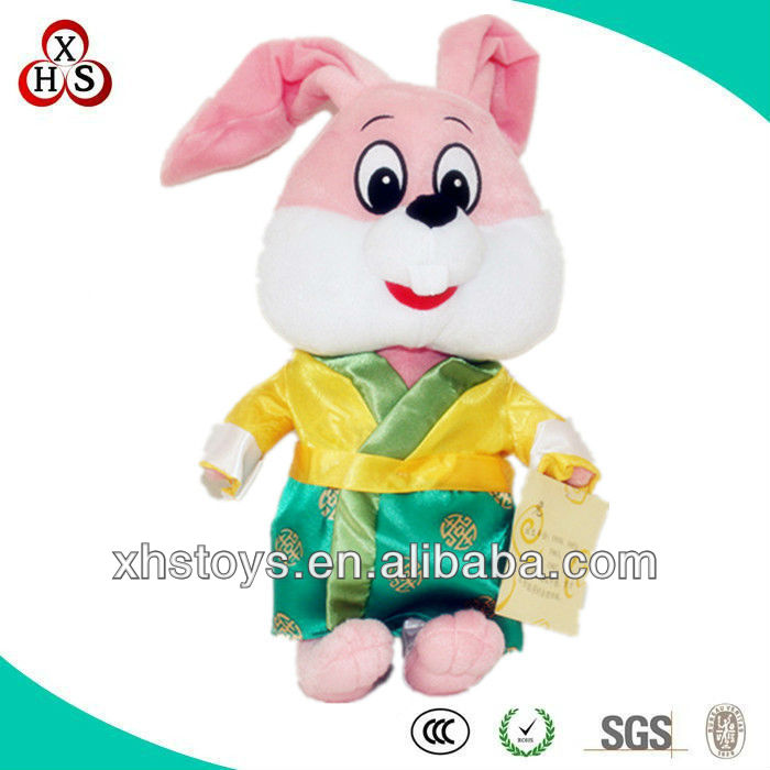 cute soft toy dancing and singing plush rabbit