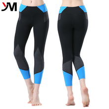 2016 fitness apparel women active sports wear sexy design mixed color tight yoga pants