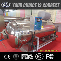 High temperature horizontal automatic hot water spraying water pressure pot