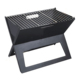 DA0024 Fire Sense Compact Light Weight Notebook Charcoal Grill For Outdoor Campers Barbecu