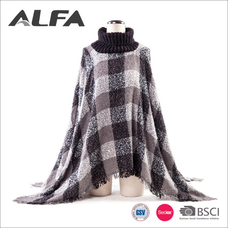 Alfa China Supplier Acrylic Fashion Lady Russian Buyers Stoles And Shawls