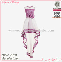 Popular summer new stylish bowtie decorated girl party wear dresses free pron images sexy evening party queen dress