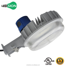 Outdoor Waterproof LED Road Light UL IP65 35W/ 55W Security LED Dusk to Dawn Light with photo Sensor