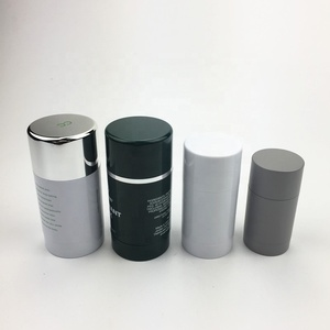 15g 30g 50g 75g Bottom Filling Manufacturers Packaging Stick Round Mini Empty Plastic Deodorant Container For Sale