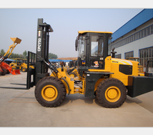 Perfect off road forklift 5 ton rough terrain forklift price