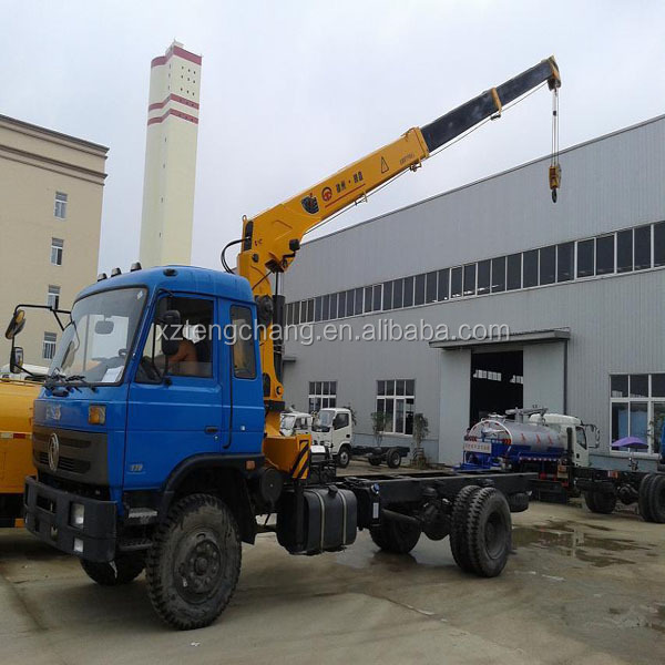 2200kg durable heavy craen truck 5ton hydrualic lifting/mobile telescopic boom crane