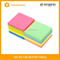Onzing good quality color paper cube block note