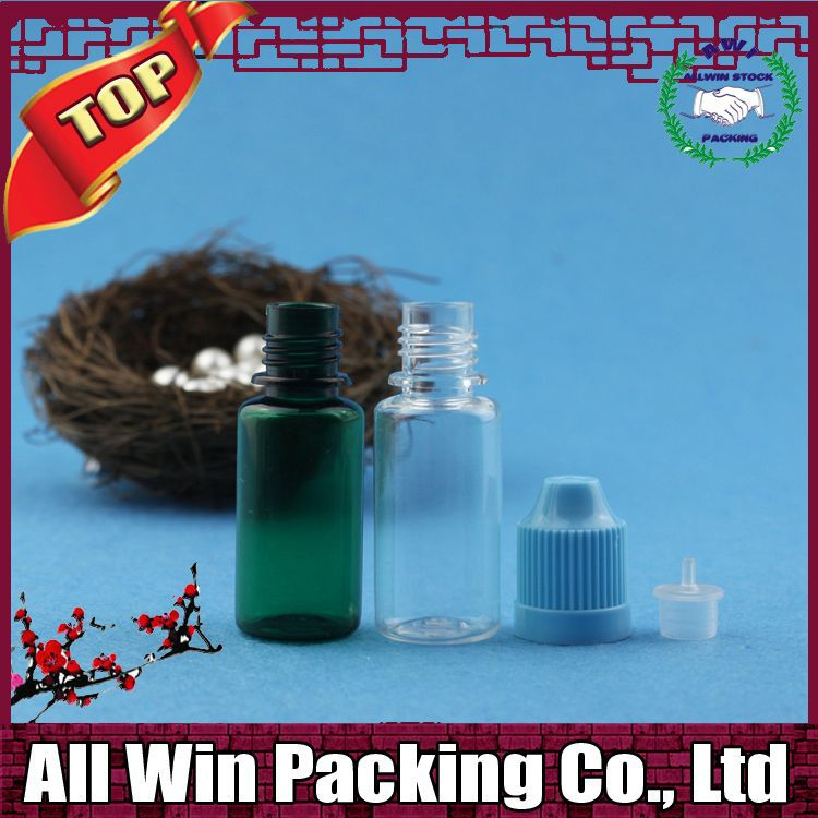 plastic bottle wide mouth 30ml PET dropper bottle childproof cap Long thin tip plastic bottle Manufacturer