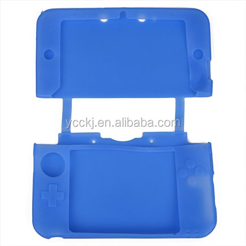 new wholesale silicone case for nintendo 3DS XL / LL made in China shenzhen