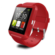 Multi-language U8 Bluetooth Smart Wrist Watch Phone Mate For Android IOS Iphone 6 /6s Samsung LG Huawei XIAOMI Lenovo Phone