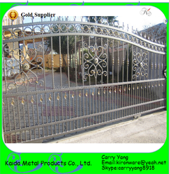 New Wrought Iron Sliding Main Gate Designs for homes