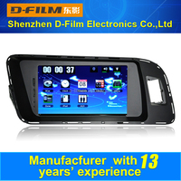 2 din Bluetooth car DVD player for Audi Q5, Car Gps Navigation with IB audio redio IPOD, wholesale car DVD player from China