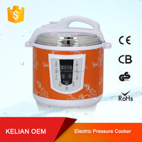 mini orange multifunction pressure cooker