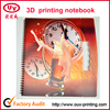 Hot selling 3D PP cover notebook shenzhen factory selling directly