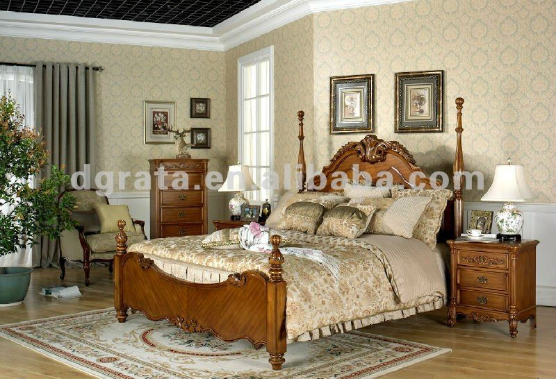 2012 new design contemporary wood bedroom furniture is used maple solid wood and carving finish from trading company
