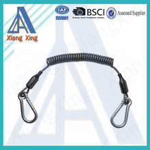 Black color specialized cheap sprial cord lanyard on China market