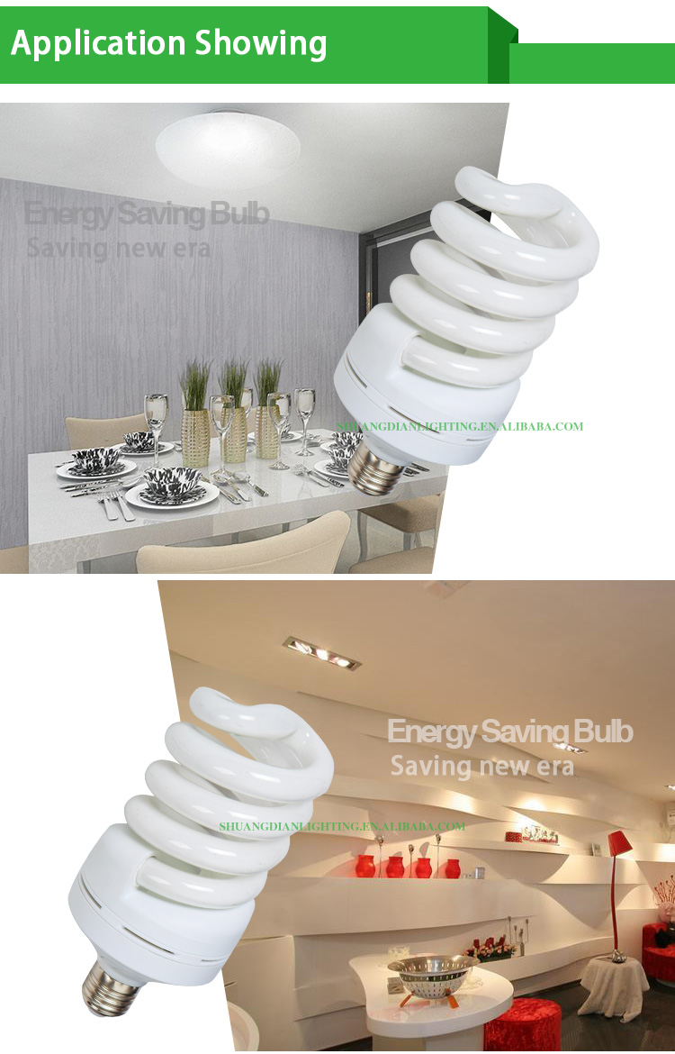 2016 newest economic energy saving light 15/18/20W 8000hrs CE/ROHS/SASO/INMETRO arrpoved energy saving lamp