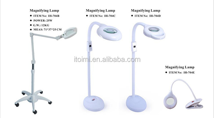 led magnifying lamp for beauty salon facial magnifying lamp