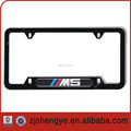 Wholesale custom design car licence plate frame