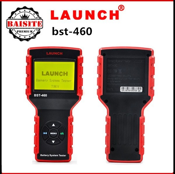 Factory price Super function digital car battery tester tool original launch bst-460 battery discharge tester with good feedback