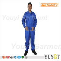 Shenzhen manufacture workwear product type soft and breathable mens 100 cotton work clothing
