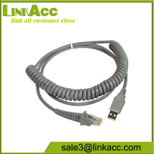 Cable, USB, Type A, Optional POT or though external power supply, Coiled, CAB-412, 9 ft.