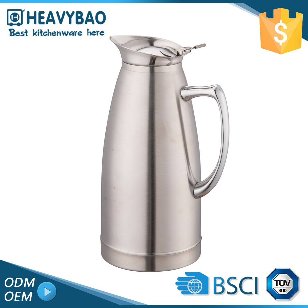 Heavybao Elegant Top Quality Stainless Steel Enamel Metal Pitcher Water Jug